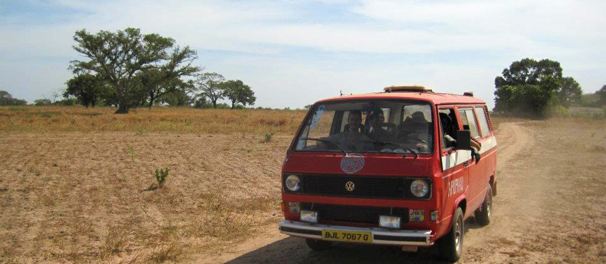 The first Apu-Paku van in Gambia 2010