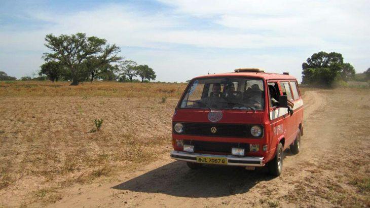 The first Apu-Paku van in Gambia 2010