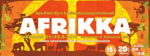 Afrikka15 charity festival